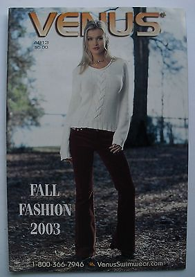 FALL FASHION FOR 2003 VENUS Swimwear Catalog | eBay