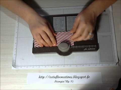 Créer une papillote avec l'Insta'Enveloppe de Stampin'Up! - YouTube