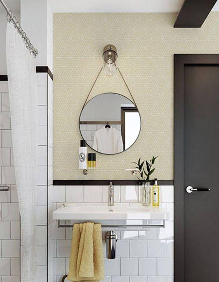 Adoptez les tendances déco (couleurs, motifs....) jusque dans la salle de bains