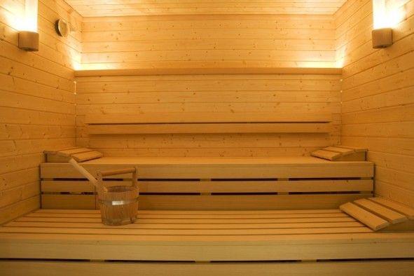 Klafs sauna in the K West Hotel
