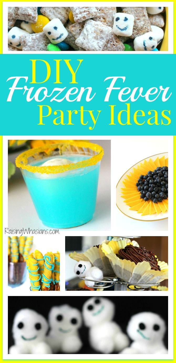 DIY Frozen Fever Party | DIY Disney Frozen Fever Party - food, decor, crafts, ideas and more! Perfect for birthday parties