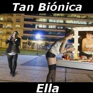 Acordes D Canciones: Tan Bionica - Ella