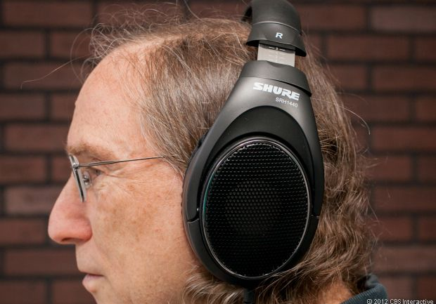 Shure SRH1440 Professional Open Back Headphones Review - Headphones - CNET Reviews