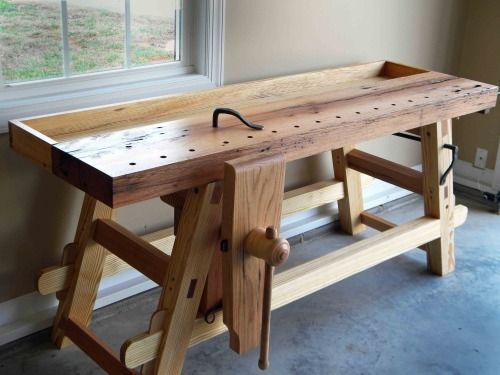 Roy Underhill Workbench Plans Making The Moravian