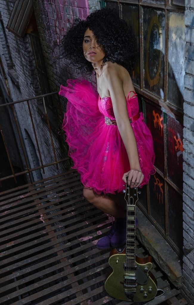 Opt for a hot pink tulle party dress for a lazy day look. Take a classic approach with the footwear and throw in a pair of purple suede boots.   Shop this look on Lookastic: https://lookastic.com/women/looks/hot-pink-tulle-party-dress-purple-suede-boots/17852   — Hot Pink Tulle Party Dress  — Purple Suede Boots