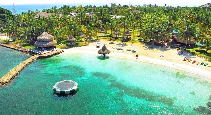 paisajes bonitos de colombia parque tayrona caribe playa