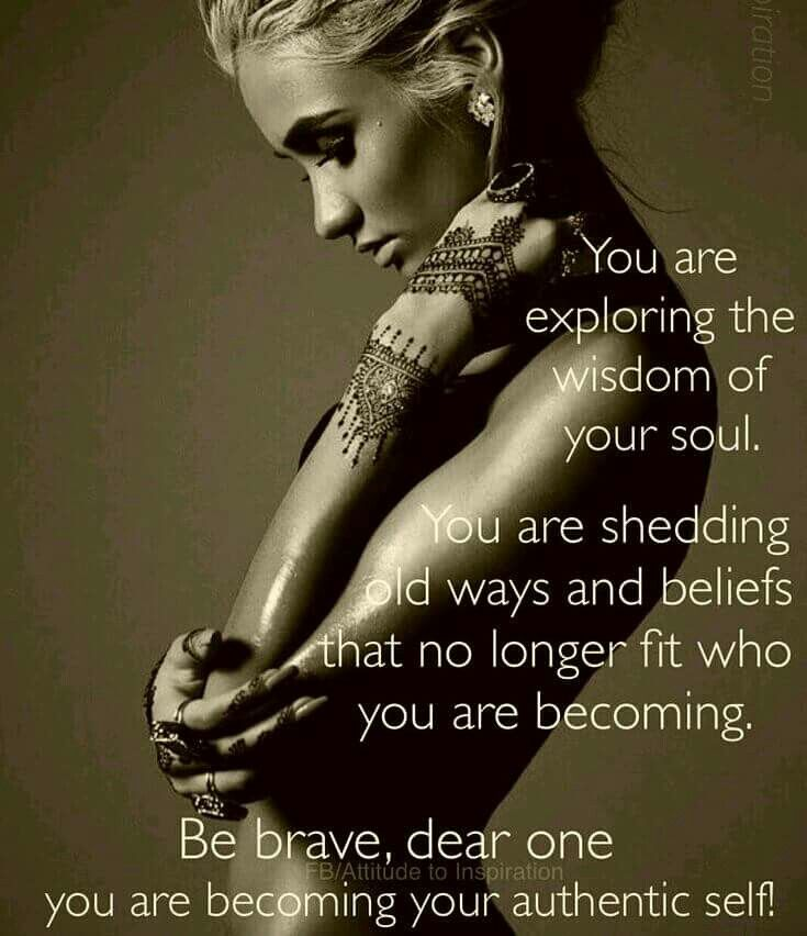 Explore and discover your authentic self
