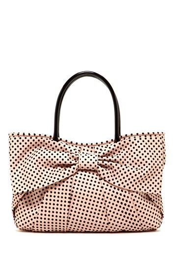 RED Valentino Polka Dot Bow Tote on HauteLook