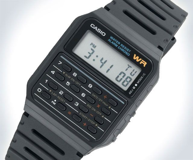 Casio+Calculator+Watch+|+DudeIWantThat.com
