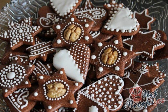 Ihned měkké medové vánoční perníčky