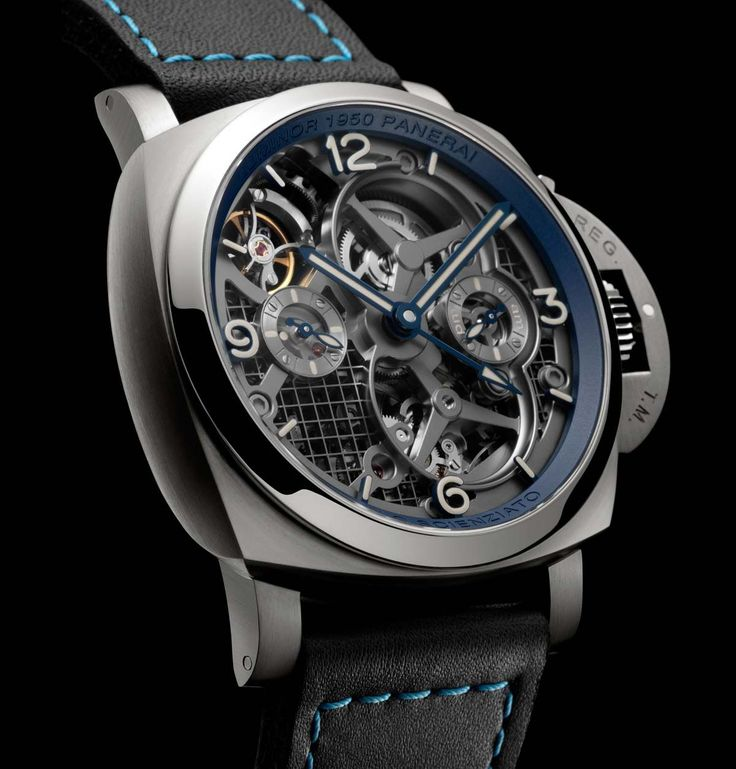 Officine Panerai Lo Scienziato Luminor 1950 Tourbillon GMT PAM767