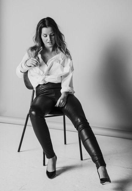 munsun stretch leather pants