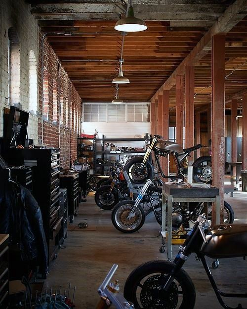 21 best nice garage images on pinterest garage ideas for Motorcycle garage plans