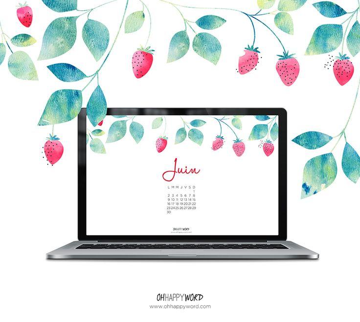 fond-ecran-fraise-ordinateur-ohhappyword-