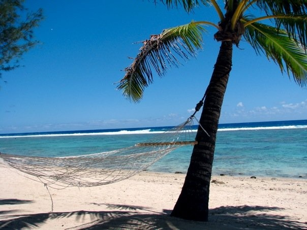 Rarotonga, Cook Islands. It really is this picture perfect!