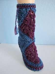 A Free Crochet Boot Pattern For the Boho Babe <3