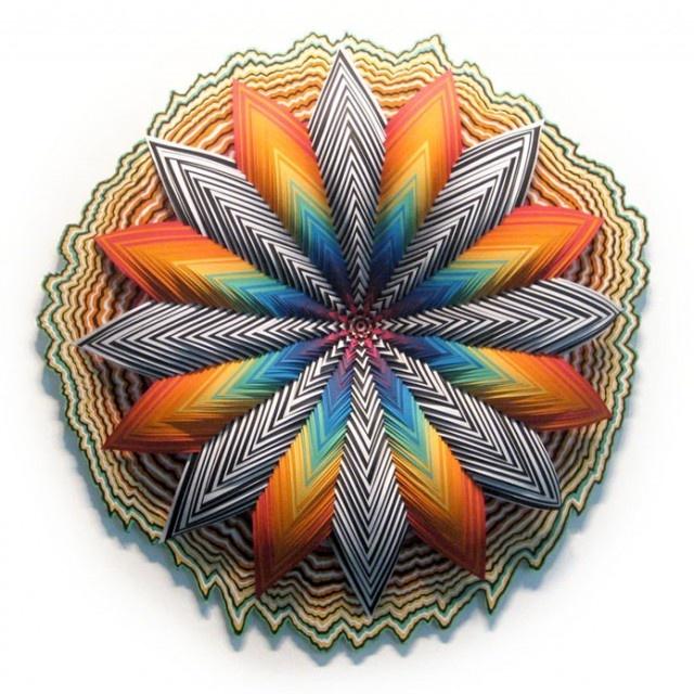 The Best Jen Stark Ideas On Pinterest Paper Art Video Jen - Mesmerising hand crafted paper sculptures jen stark