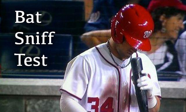 Woeful Nats: Bryce Harper Is Weird, Smells His Bat