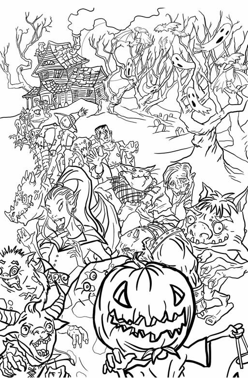 434 best seasonal coloring pages