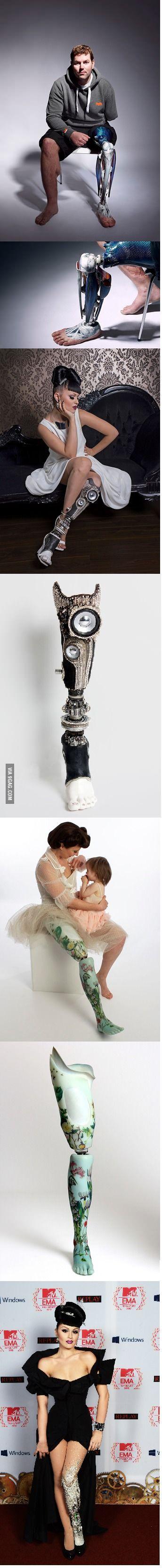 Cool stuff ~ designer prosthetics