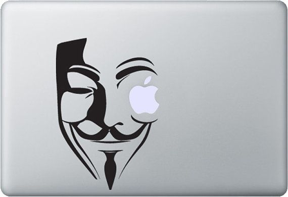 V for vendetta macbook decal unanimous custom decals by styleawall 9 99
