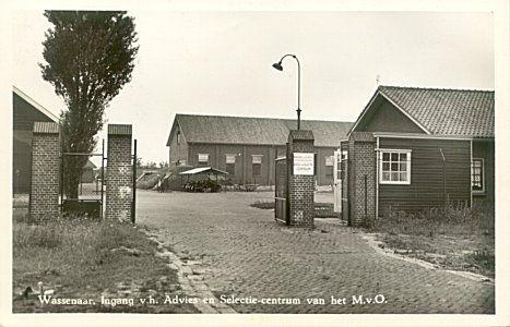 Kazernes , kampen en legerplaatsen : Wassenaar