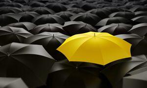 Особенный зонтик