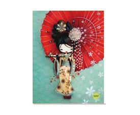 Cahier Ketto - geisha / Ketto's exercise book - geisha  www.kettodesign.com