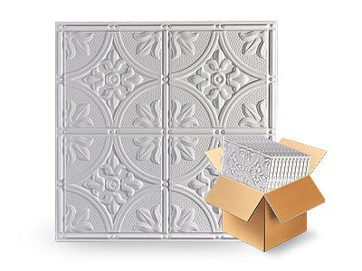"<p> 	Antique White <span data-scayt_word=""2x2"" data-scaytid=""1"">2x2</span> Ceiling Tile (Box of 12)</p>"