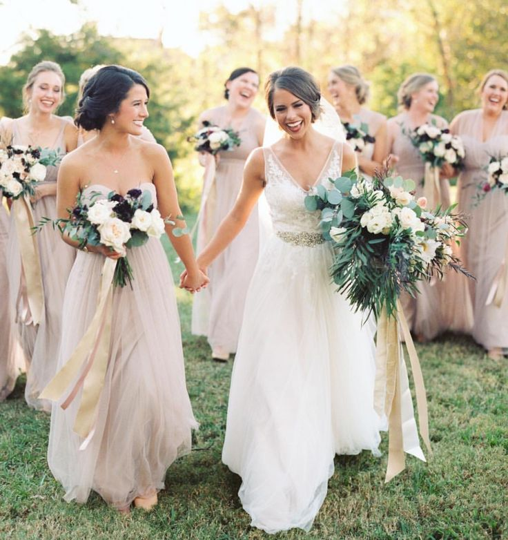 25 Cute Large Bridal Parties Ideas On Pinterest