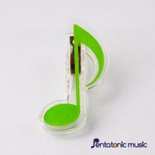 Music Sign Clip - Quaver Green