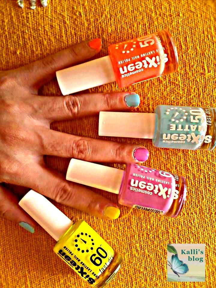 Let's talk about Summer nail colors by Sixteen! http://www.kallisblog.gr/2015/07/lets-talk-about-summer-nail-colours.html