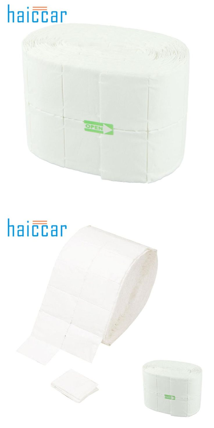 [Visit to Buy] HAICAR New High Quality 500 Lint Free Each Roll Nail Wipes Cotton Pad Gel Acrylic Nail Polish Remover Pretty Nail Polish Remover #Advertisement