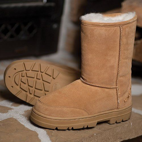 Plymouth Mocs Mens Boot Slippers - http://authenticboots.com/plymouth-mocs-mens-boot-slippers-2/
