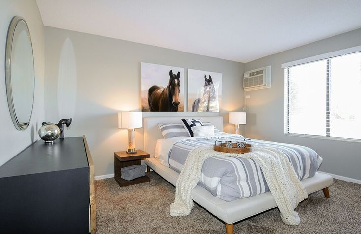 Can you see yourself falling into this bed after a long day at work? Come take a tour of the floor plans we offer! #Fifteen98Naperville #Apartments