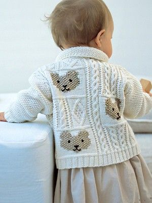 Cable and Teddybear Jacket