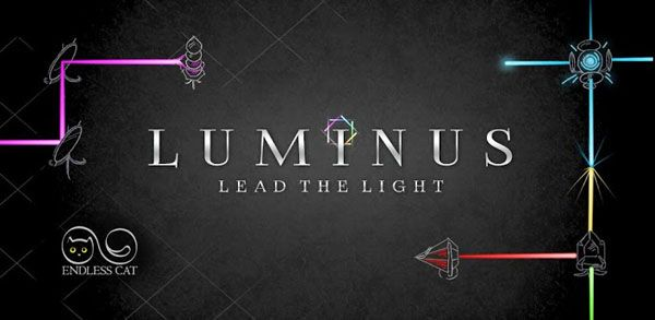 Android Games Luminus Title Image