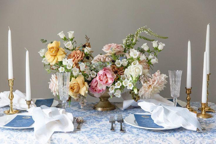 Capricieuze bloeminspiratie voor uw zomerhuwelijk