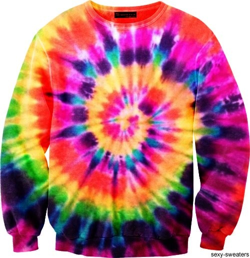 I want this Tie Dye sweatshirt!
