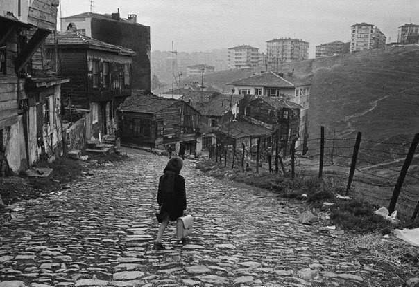 Ihlamura Dikilitaştan inen yol 1968