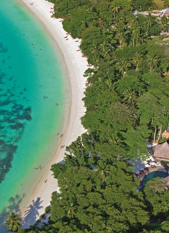Plaża Constance Ephelia Resort 5* Premium #Seszele #wyspa Mahe #luksusowe #wakacje