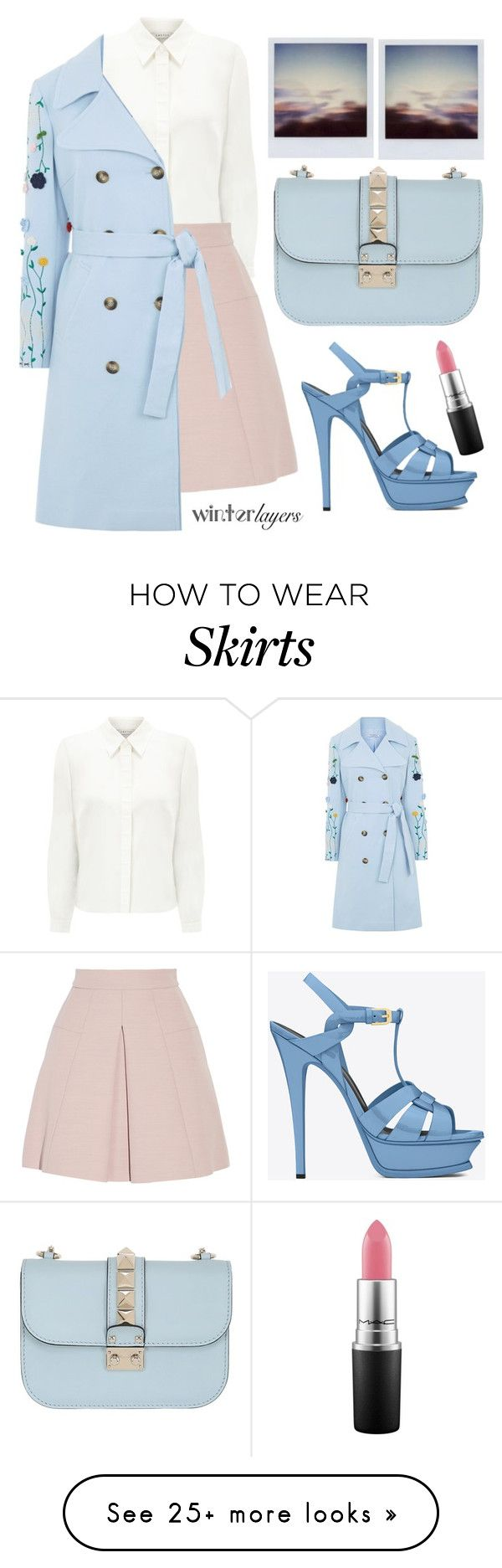 """""""Dancing on my own"""" by karineminzonwilson on Polyvore featuring Eastex, Alexander McQueen, VIVETTA, Valentino, Yves Saint Laurent, MAC Cosmetics, women's clothing, women, female and woman"""