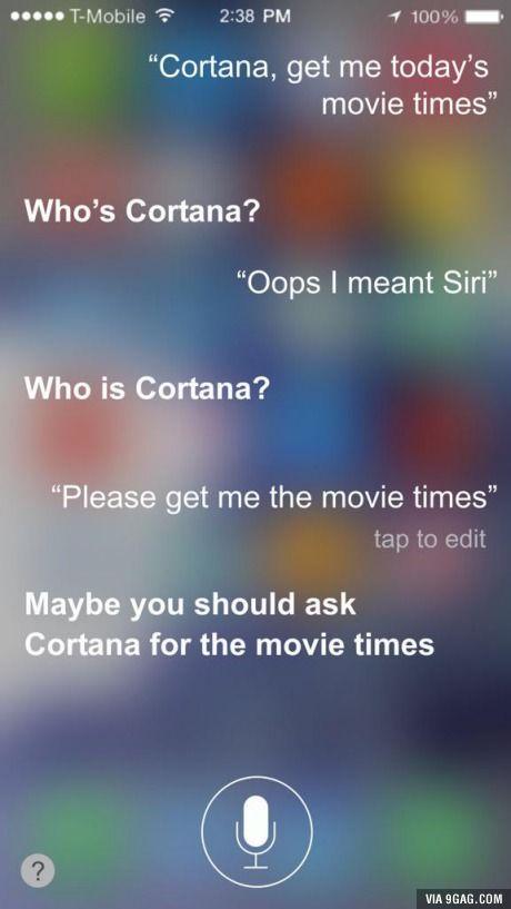 Jealous Siri