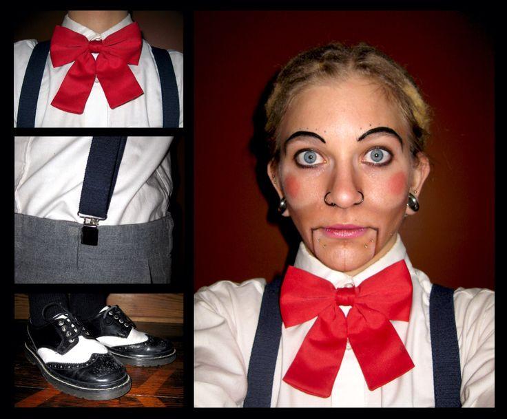 how to make a homemade ventriloquist dummy