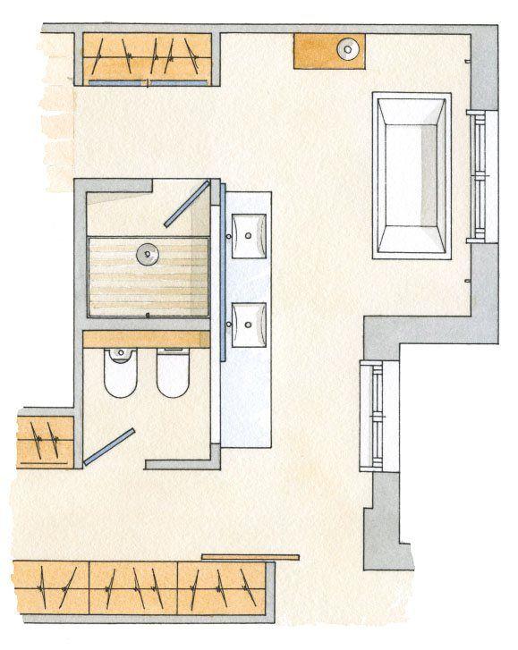 Un baño redondo · ElMueble.com · Cocinas y baños