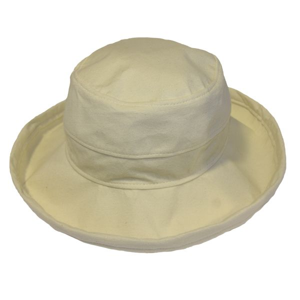 The Noosa Hat - Natural Cotton | Topshow