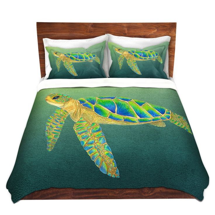 Duvet Covers and Shams | Catherine Holcombe - Syndney Seaturtle