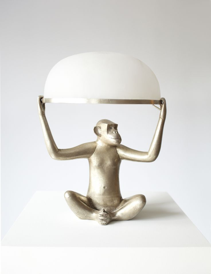 François-Xavier Lalanne - Singe Allume | From a unique collection of sculptures at http://www.1stdibs.com/art/sculptures/