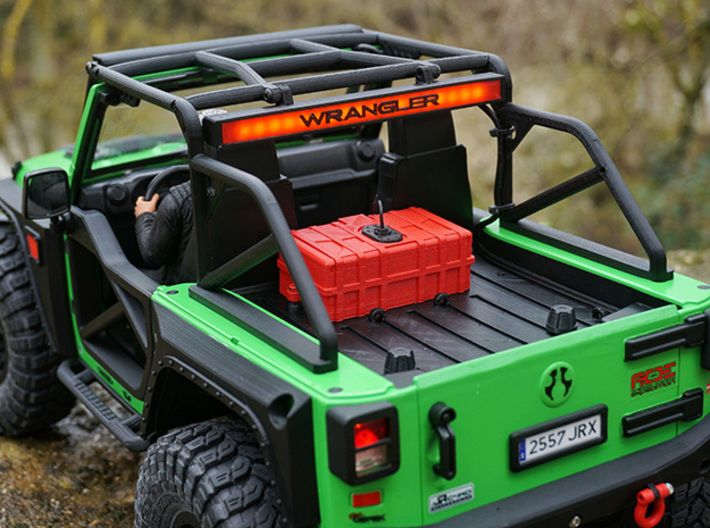 1 10 Scale Jeep Roll Cage By Factoriad3d On Shapeways Roll Cage Rc Jeep Jeep