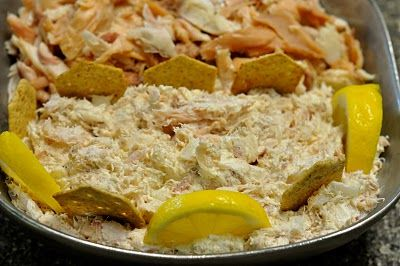 If you happen to get your hands on some fresh smoked fish (whitefish or salmon) this dip is one of the best ways to enjoy it. The fish is the star, so be sure to leave it in nice big chunks. This creamy dip is sure to be a crowd pleaser!